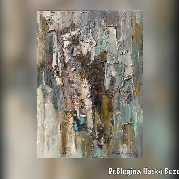 Artist and nature, Blegina Bezo