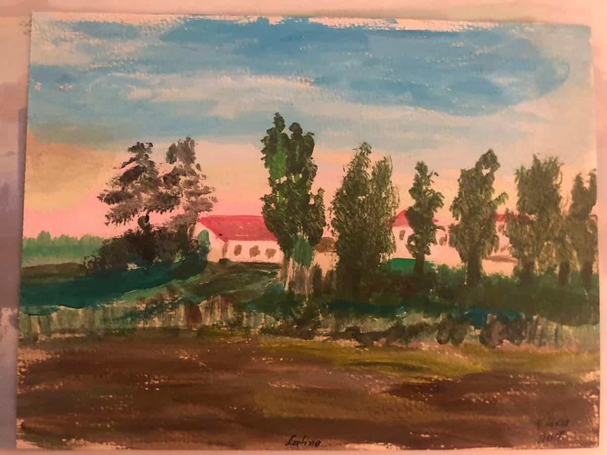 Fshati Borgamo, Vebi Lika