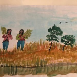 Punëtoret në fushë, Vebi Lika
