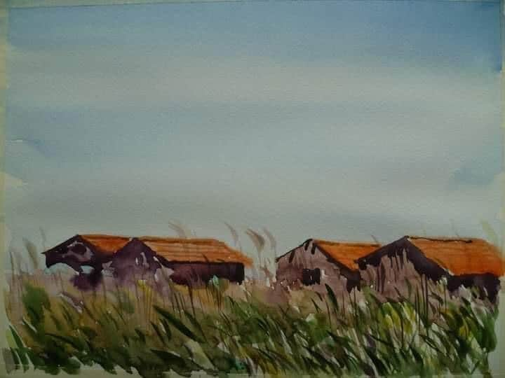 Shtëpizat e peshkatarëve (Patok), Ergys Demo