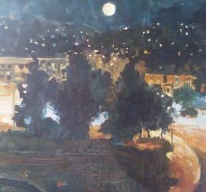 Mbrëmje me hënë, Besnik Spahiu