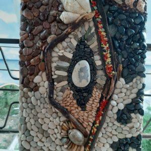 Mozaik abstrakt, Erieta Gajtani