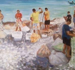Peshkatarët, Besnik Spahiu