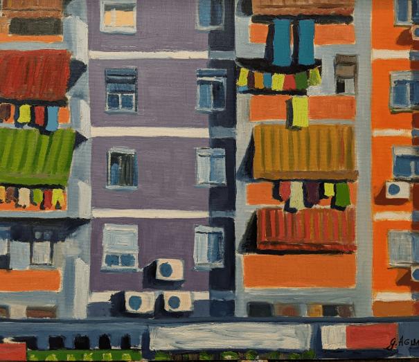 Eastern balconies, Geront Agimi