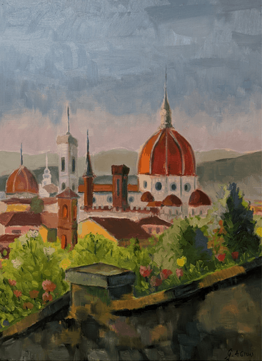 Florence sunrise, Geront Agimi