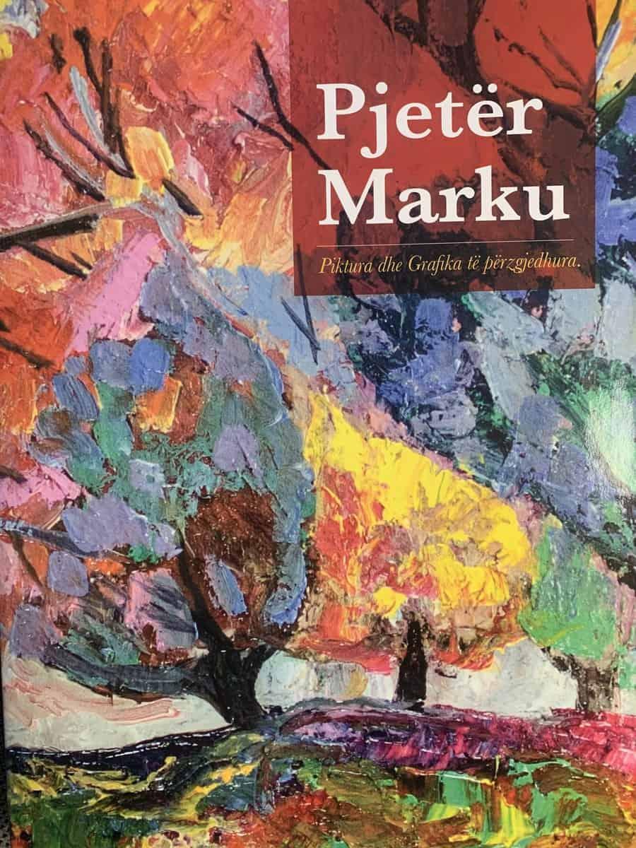 Piktura dhe grafika te perzgjedhura, Pjeter Marku